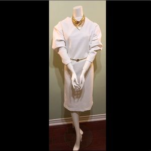 Vintage white box dress